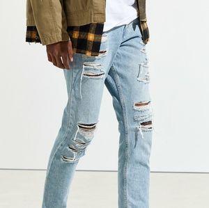 BDG Shredded skinny jeans